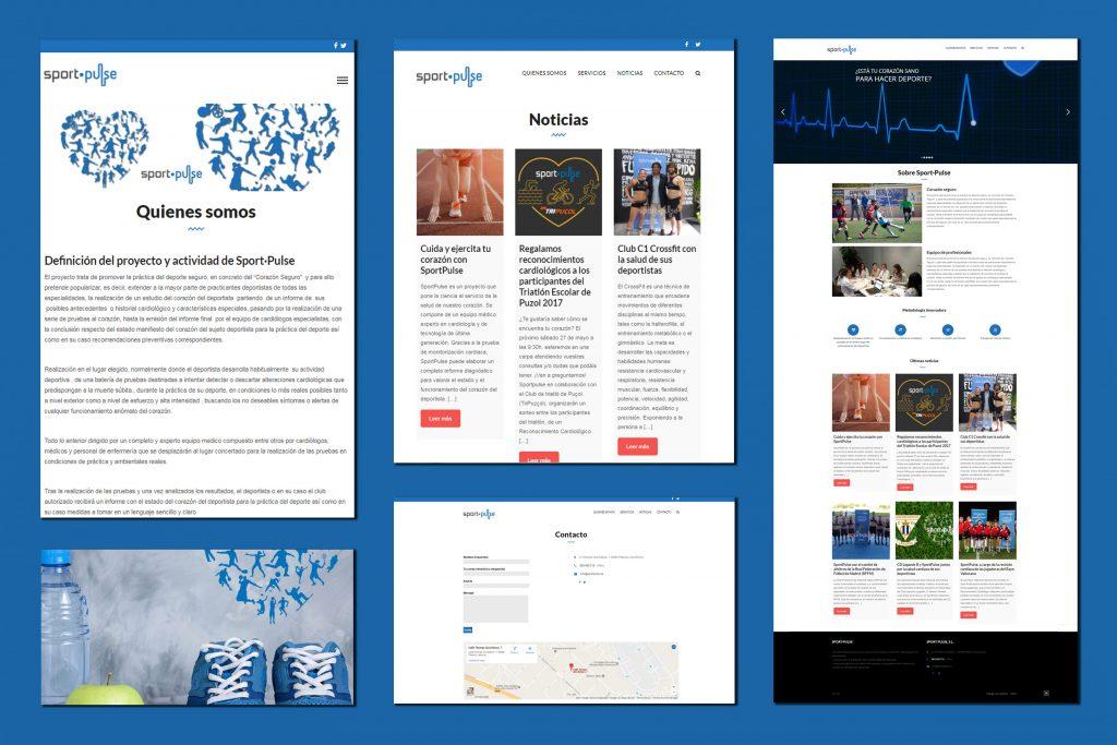 Diseño Web SportPulse